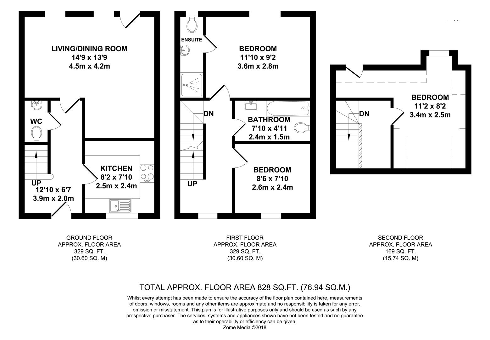 Floorplans For Howland Road, Marden