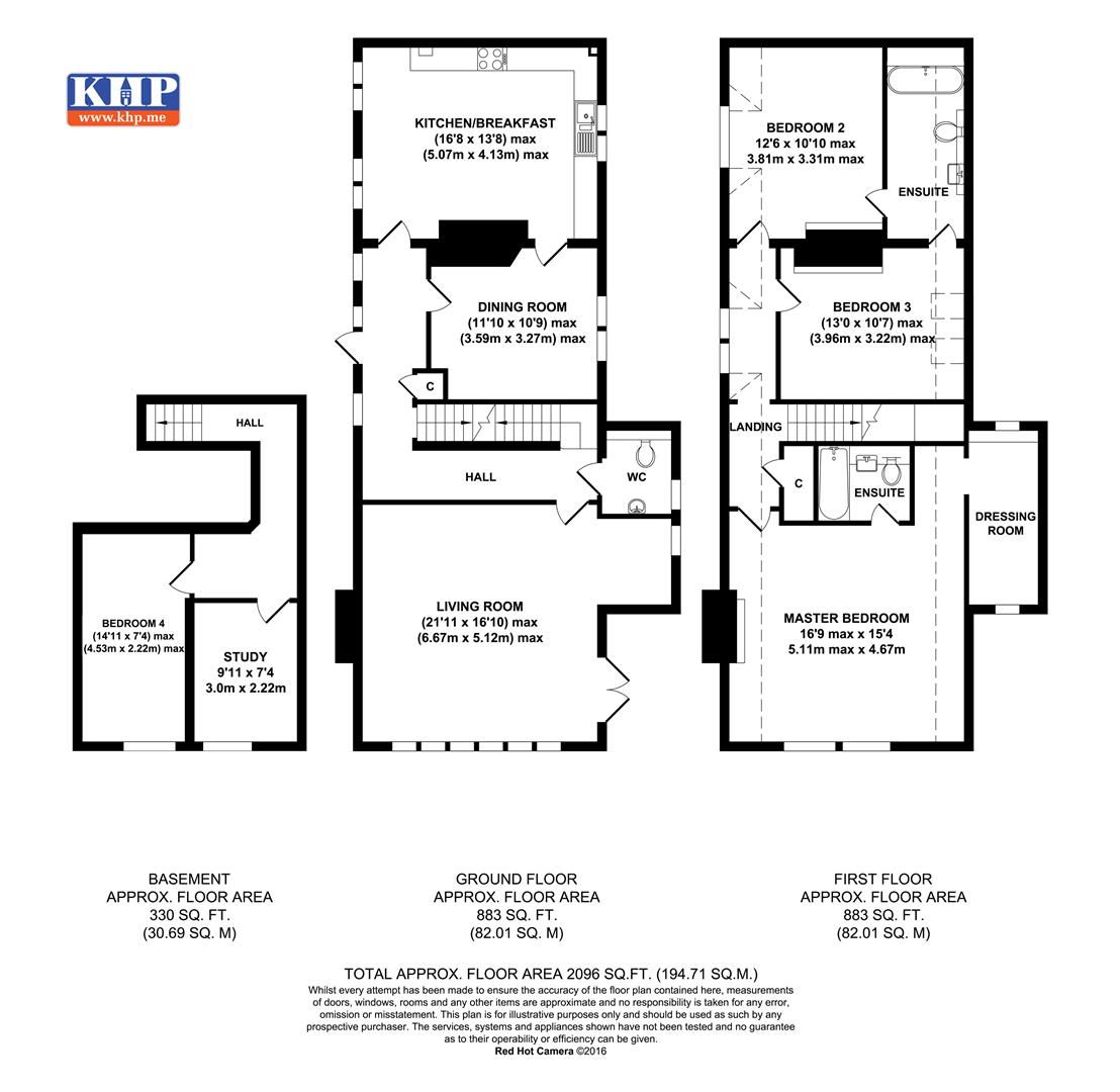 Floorplans For Preston Hall, Aylesford, ME20 7FJ